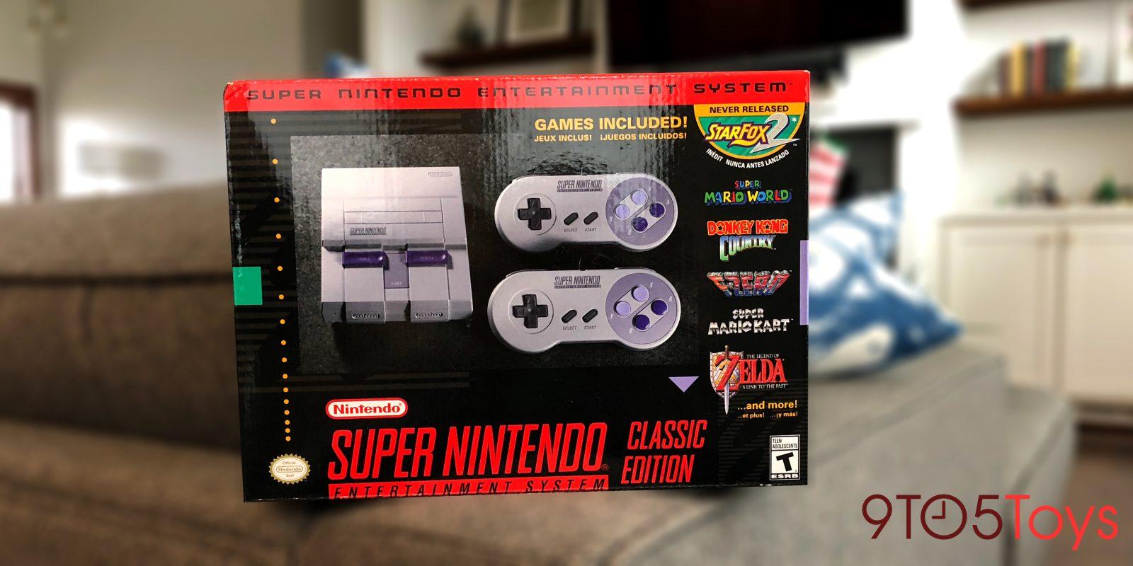 SNES Classic 24-hr. Giveaway: Have Nintendo\'s retro console under ...