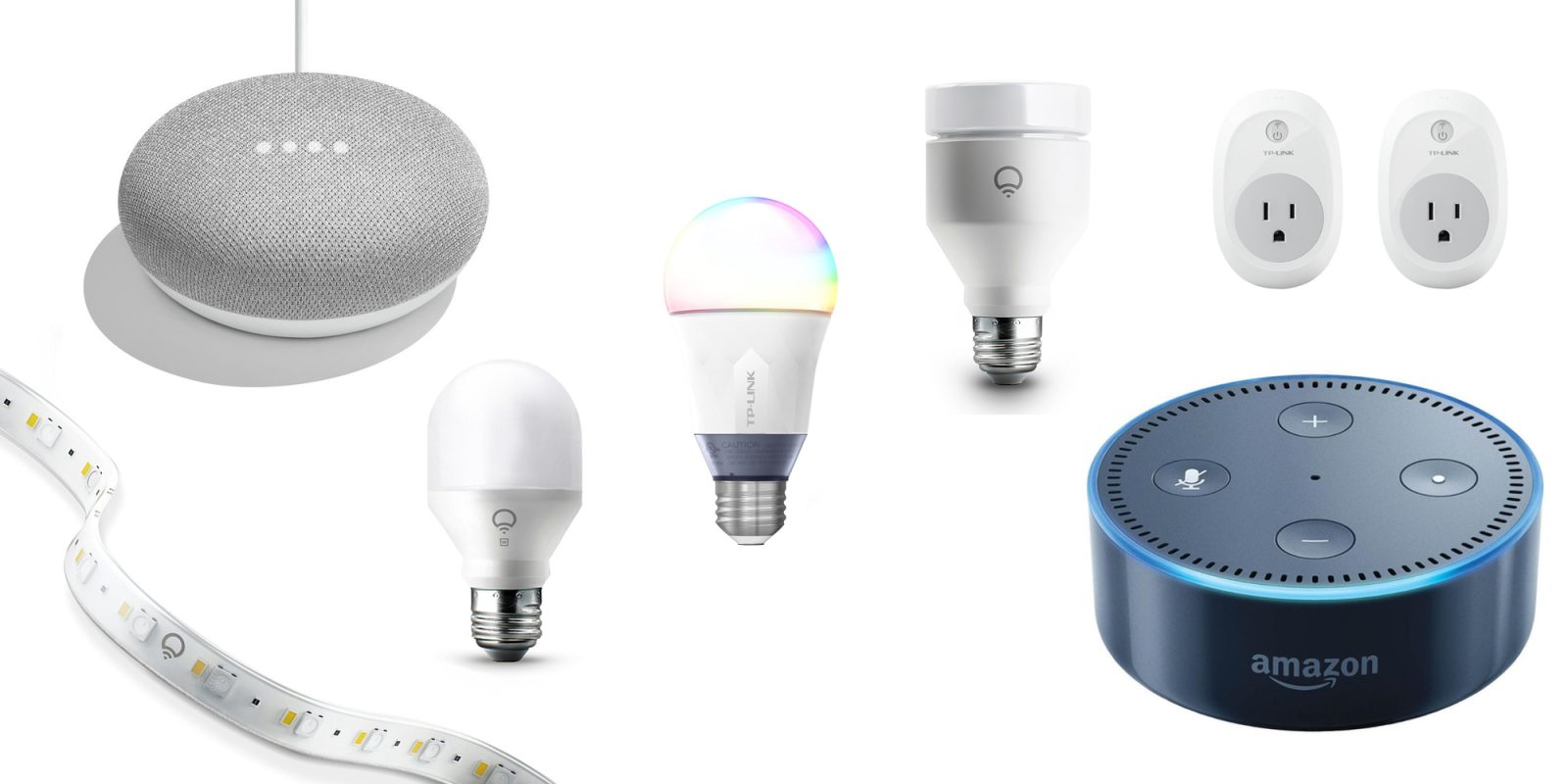 these smart home gadgets take your new amazon echo or google home to the next level 9to5toys. Black Bedroom Furniture Sets. Home Design Ideas