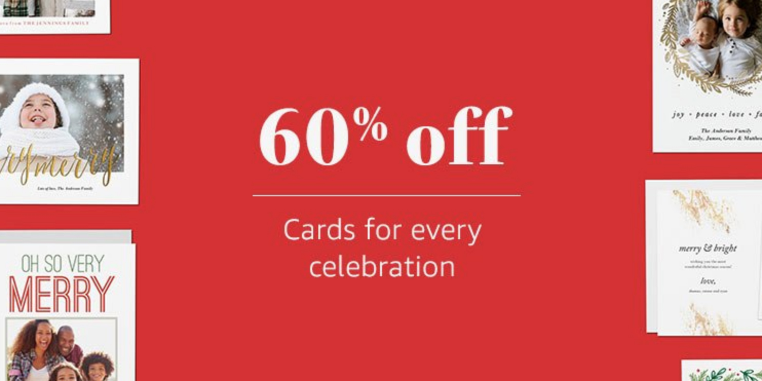 Amazon Takes 60 Off Holiday Cards With This Promo Code 9to5toys
