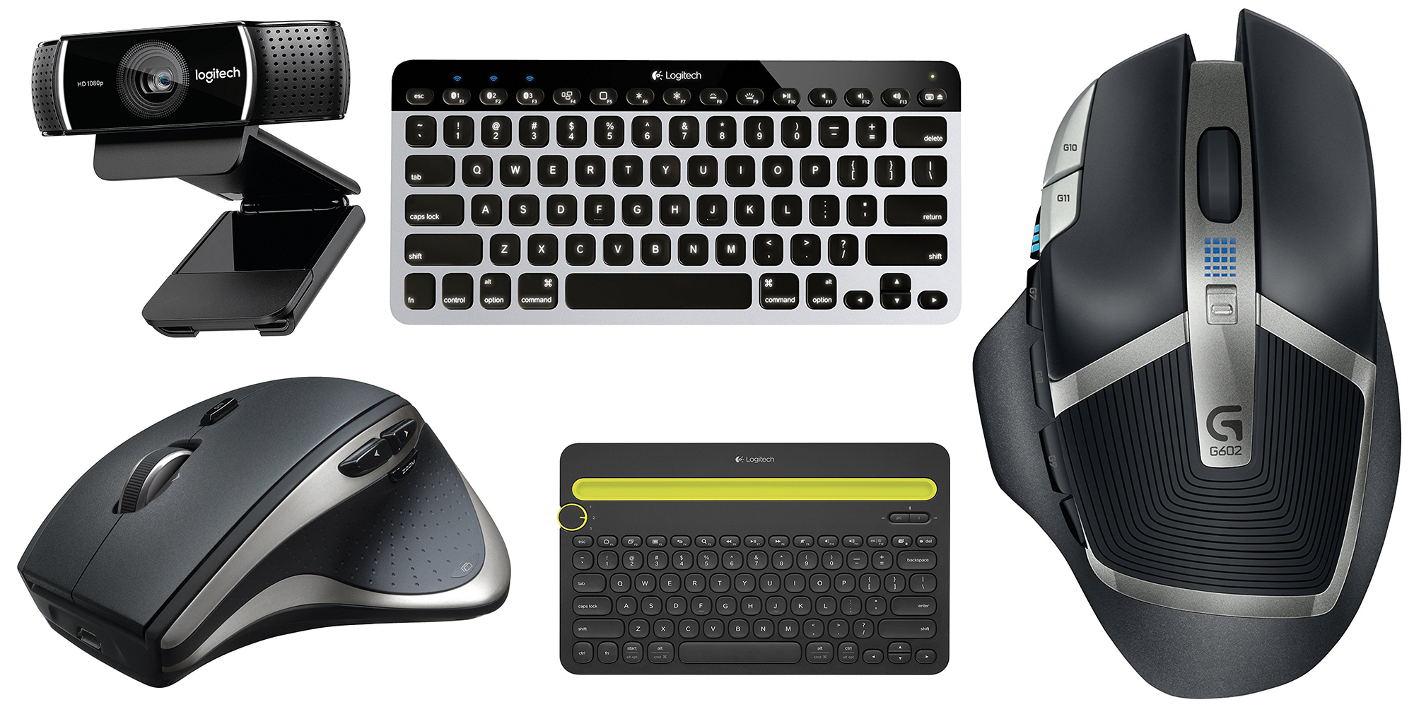 Logitech Amazon Gold Box Delivers All Time Lows On Popular Mac