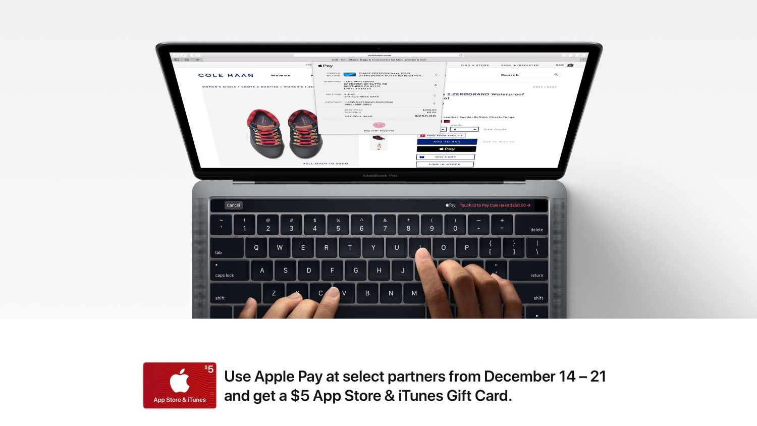 how to pay with itunes gift card instead of credit card apple promoting holiday apple pay use w 5 itunes gift 5034