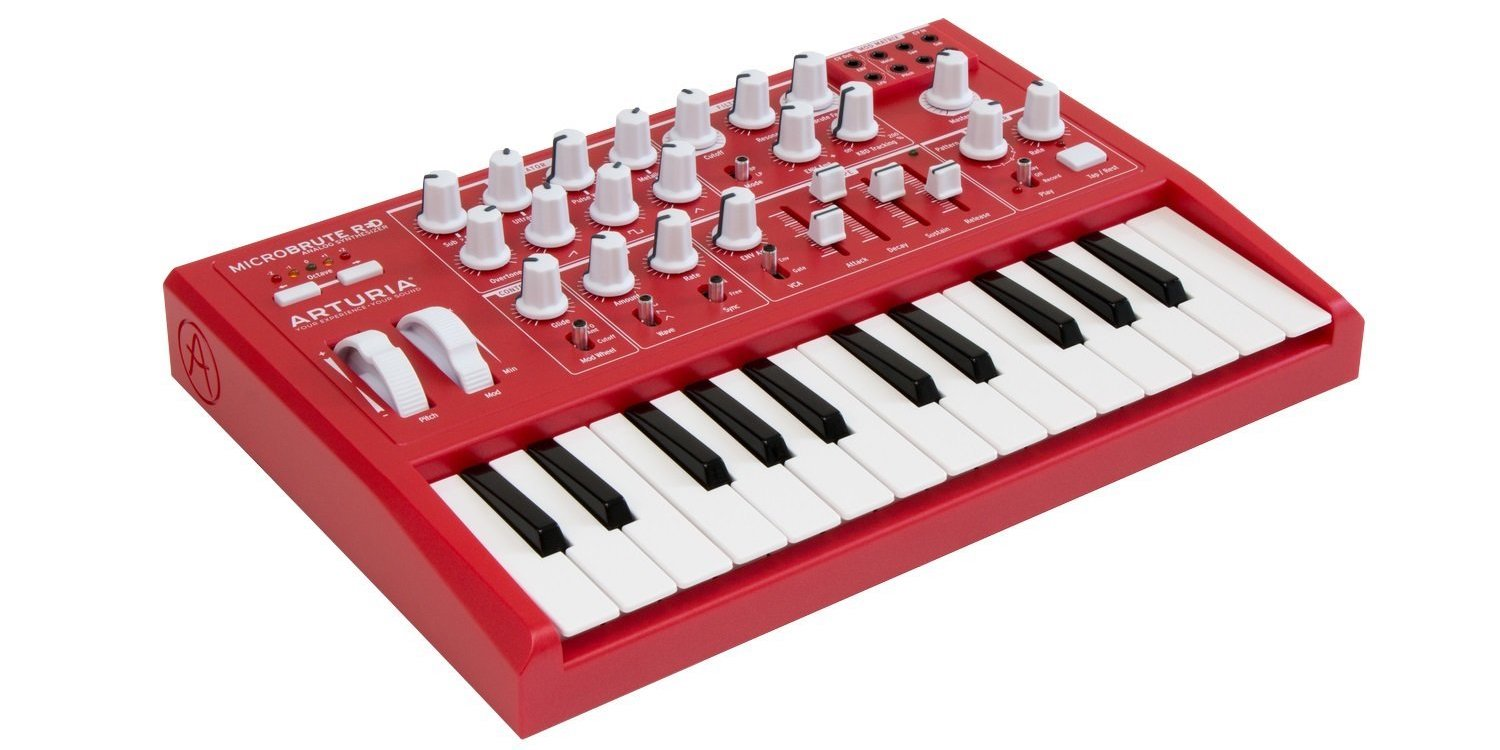 Amazon 1-day musical instrument sale: Arturia MicroBrute Synth $100 off, guitars, more