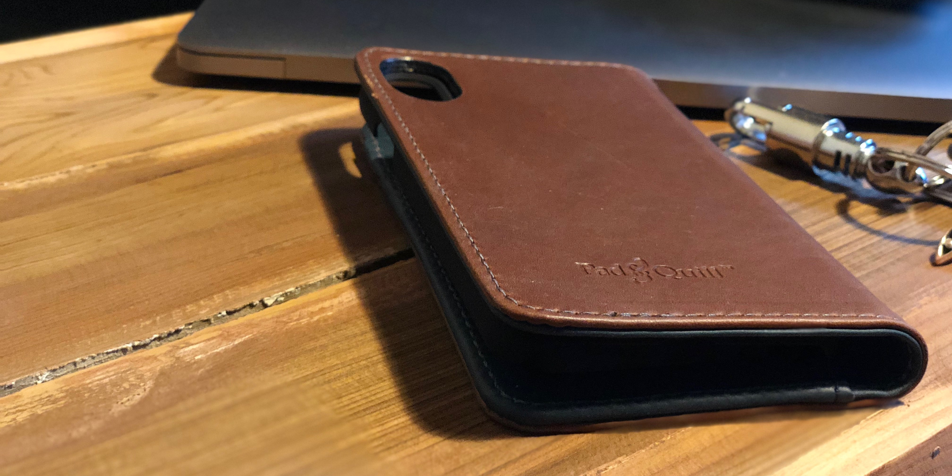 new concept 53456 d67a6 Review: Pad & Quill's Bella Fino iPhone X Wallet Case delivers w ...