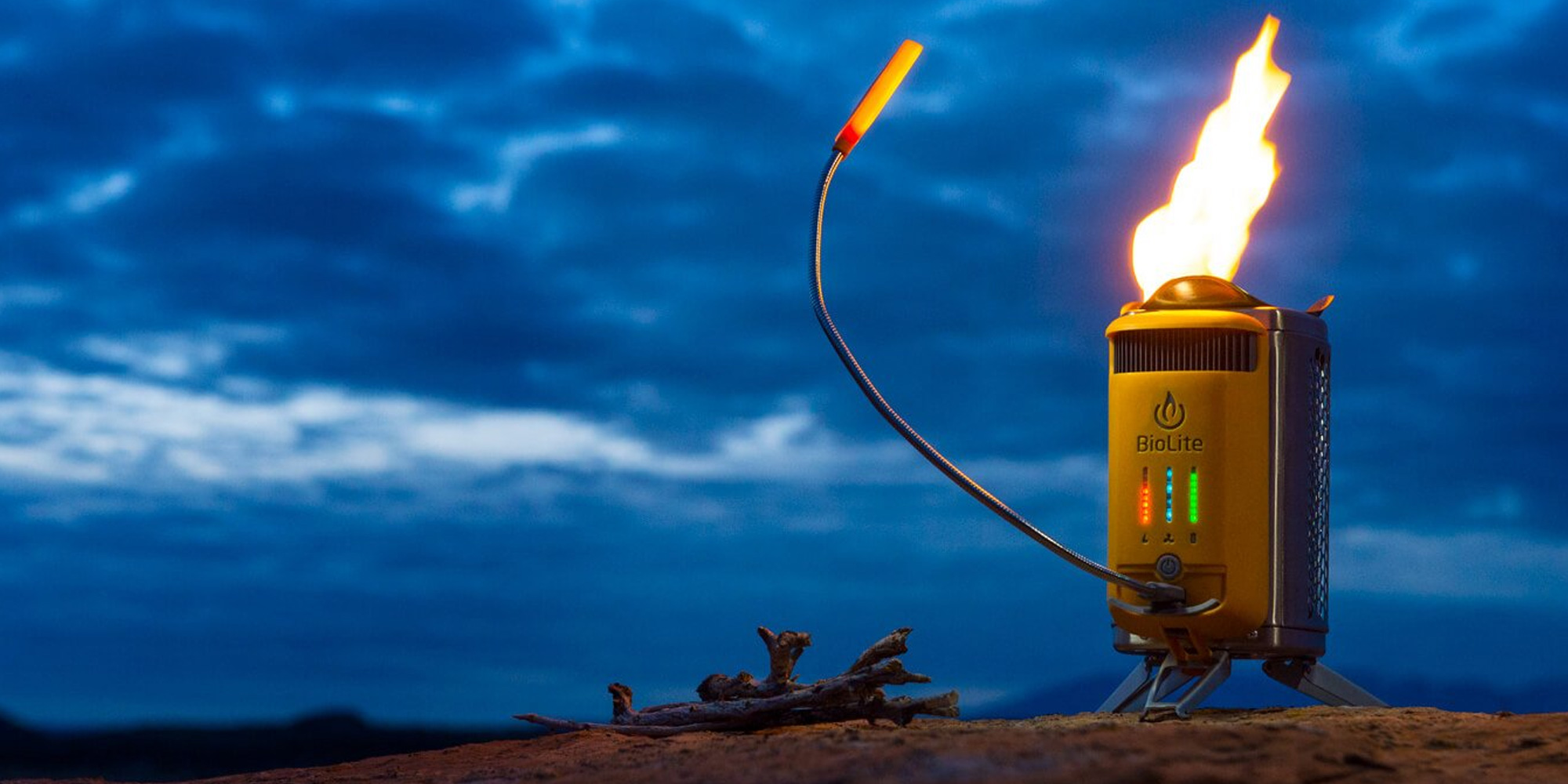 BioLite's CampStove 2 makes energy from fire for $97.50 (Reg. $130)