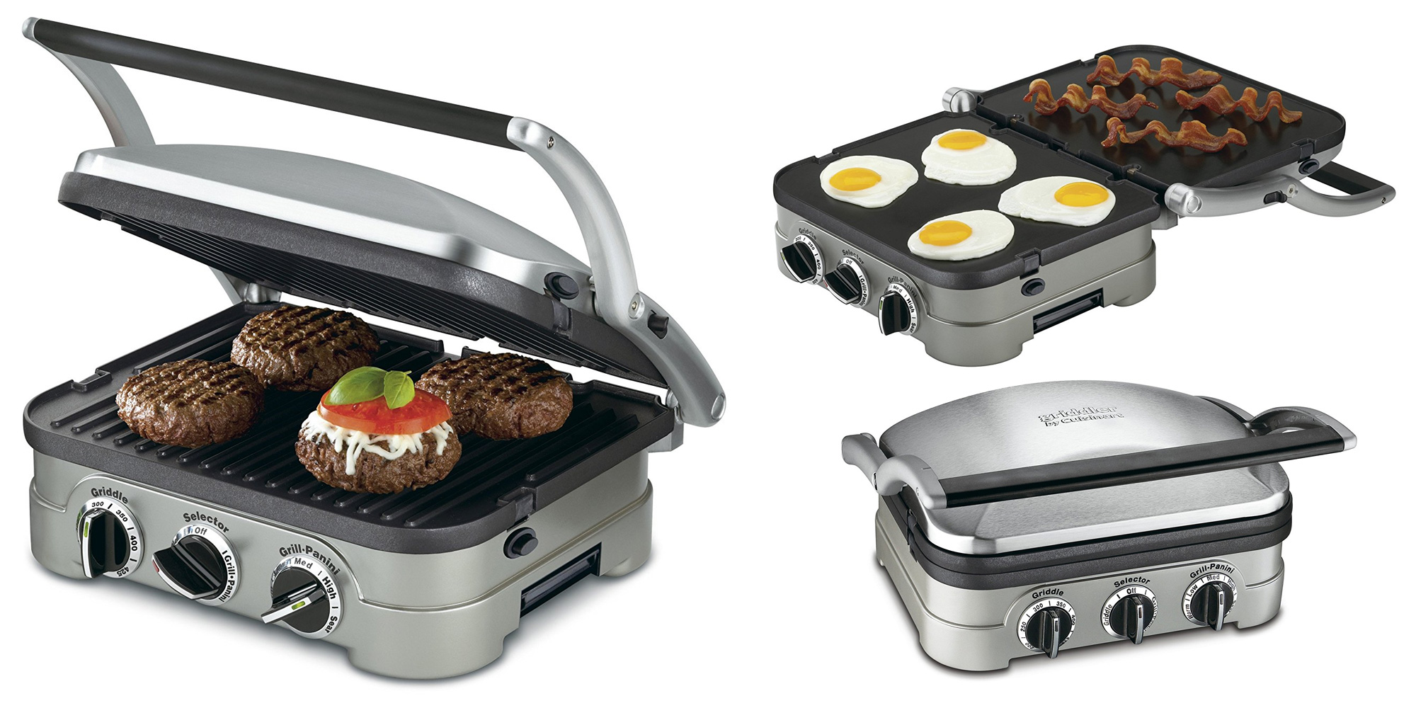 Cuisinart's Stainless Steel Griddle and Panini Press is now just $40 or less (Reg. $72+)
