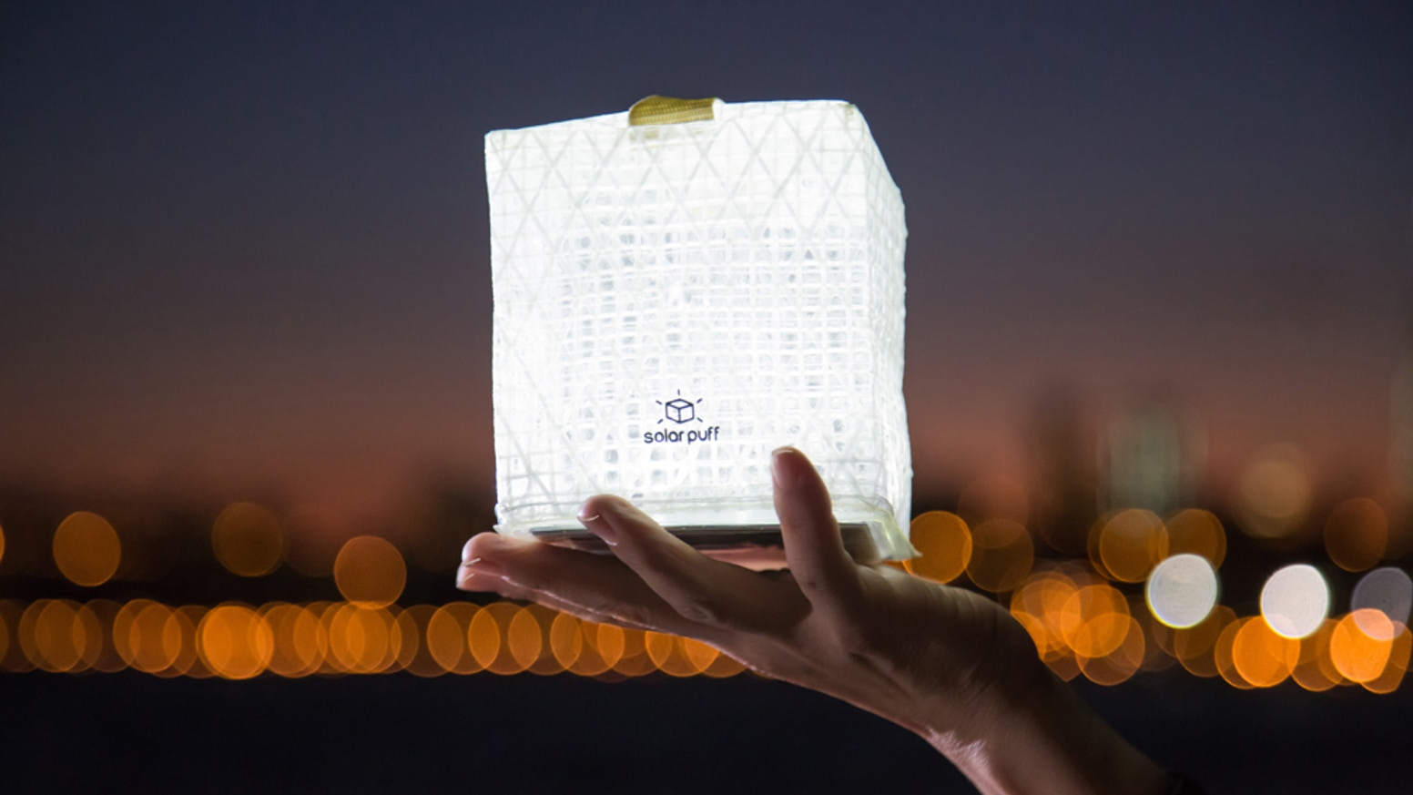 Solar Puff Lights are giving hope to people without power in Puerto Rico