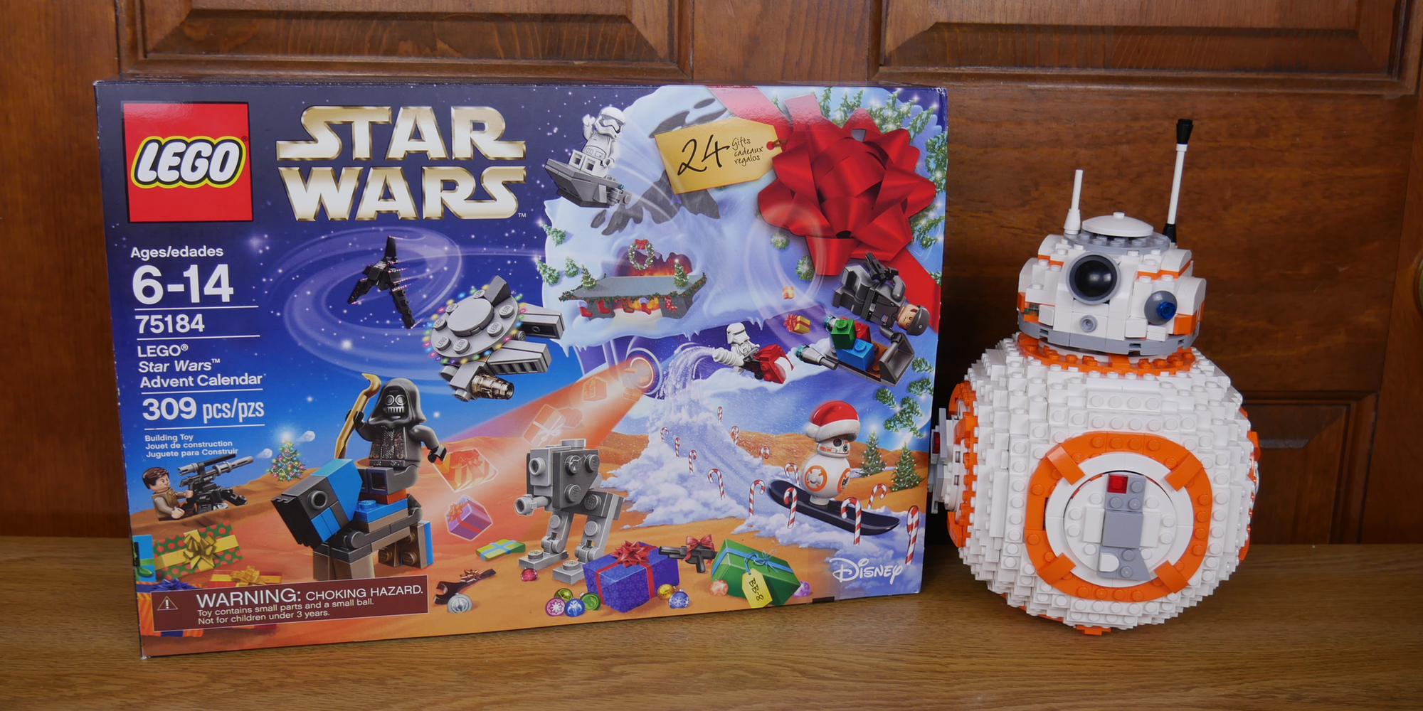 First Order Transporter New Genuine Lego 75184 Star Wars Advent Calendar Day 6