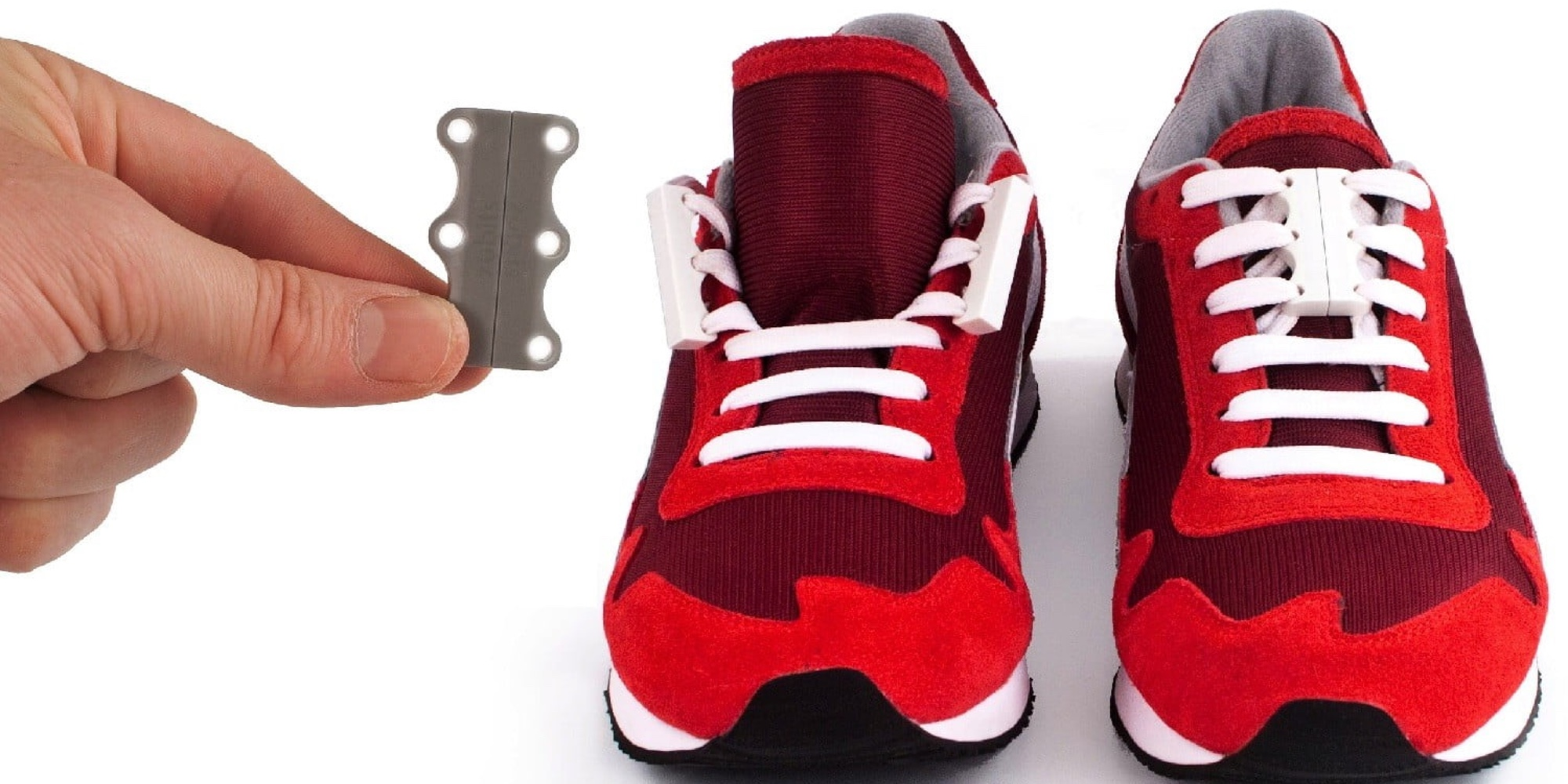 You'll never have to tie shoe laces again with the Zubits magnetic system