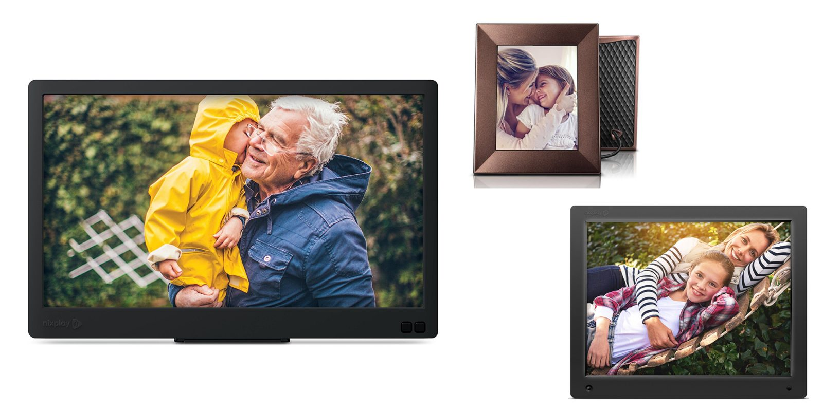 Display your family photos on Nixplay\'s Digital Frames at up to 35 ...