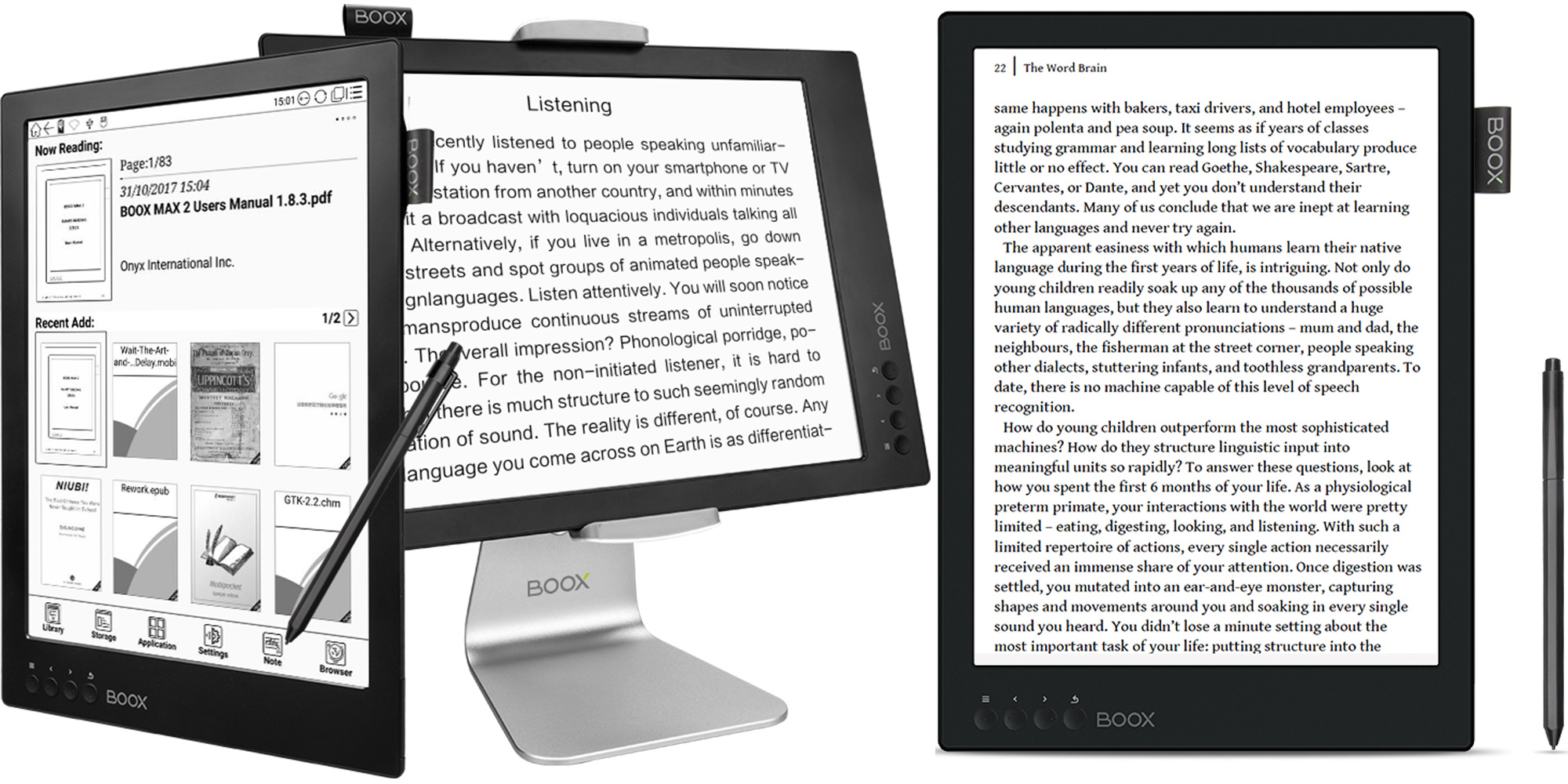 "ONYX BOOX Max2 is the ""world's first"" dual mode eInk tablet w/ HDMI input"