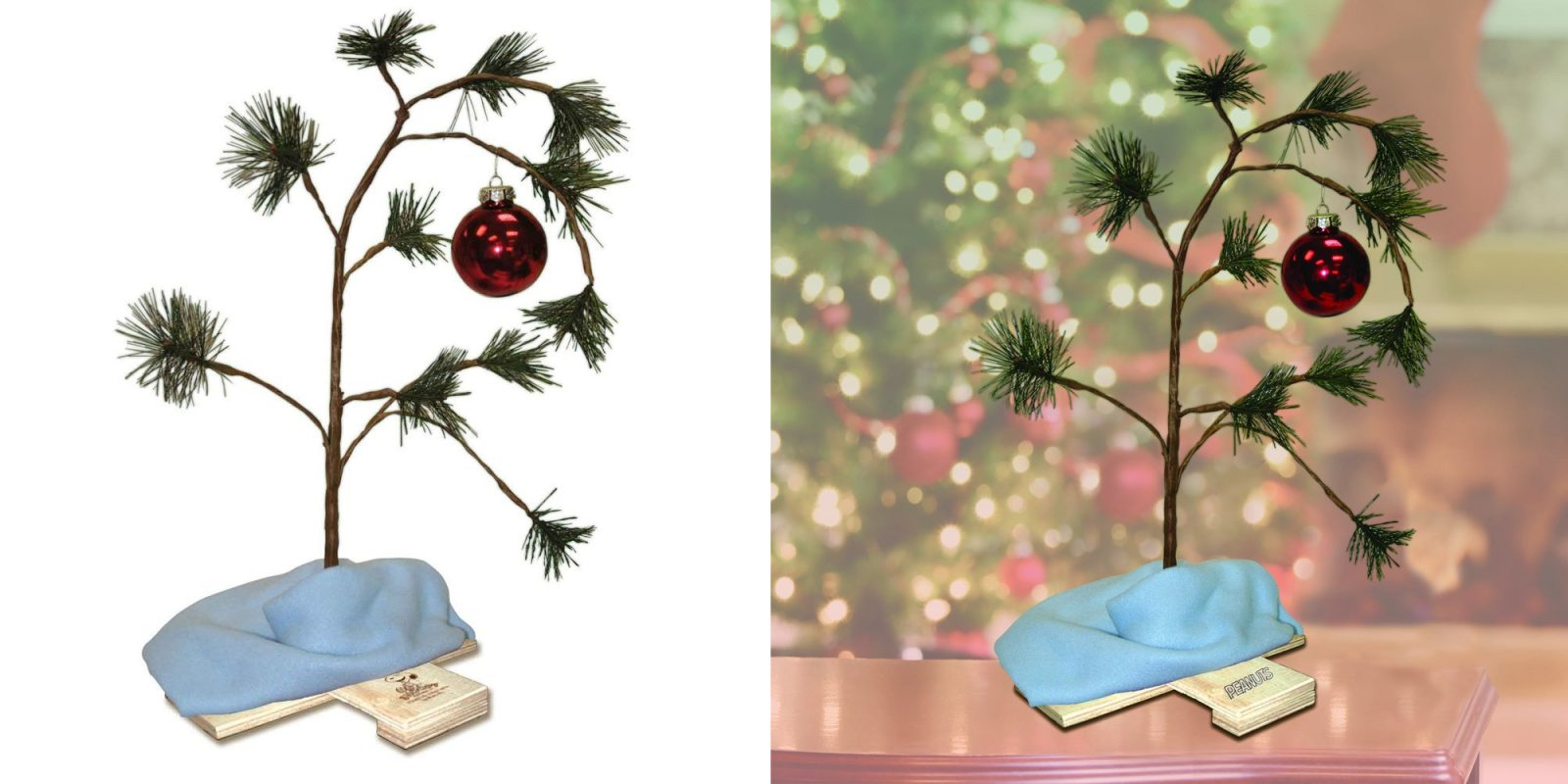 Own The Peanuts Charlie Brown Christmas Tree For Only $6