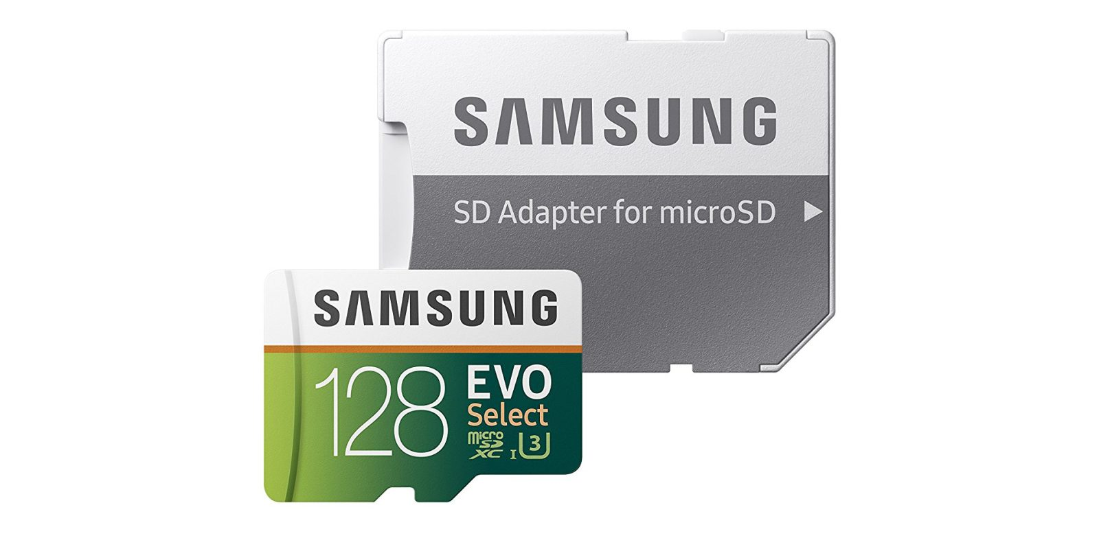 Samsung EVO 128GB microSD card w/ adapter now $37 shipped at Amazon