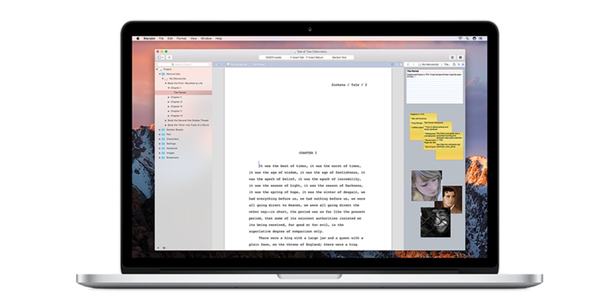 Storyist for Mac Is a Powerful Writing App That's Made for Fiction: $16 (Orig. $59)
