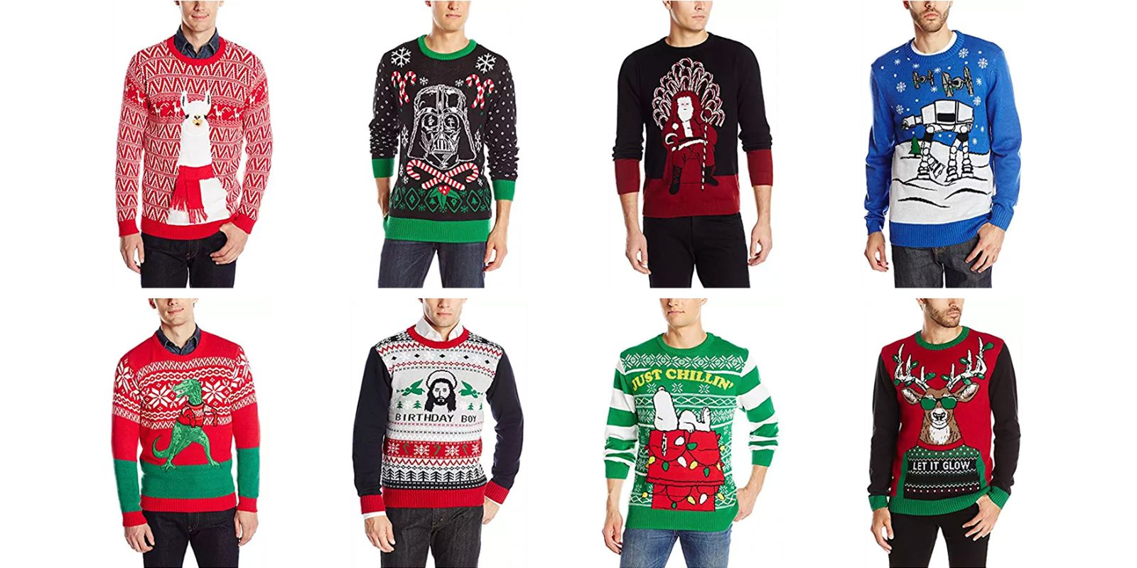 ugly christmas sweaters from 13 at amazon star wars peanuts much more - Ugly Christmas Sweater Amazon
