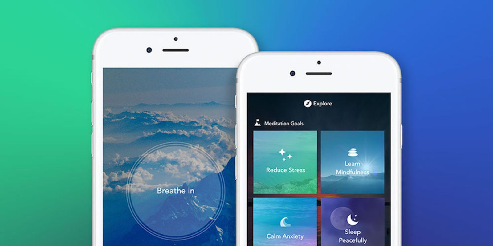 Aura Premium helps you relieve stress through meditation: subscriptions from $60
