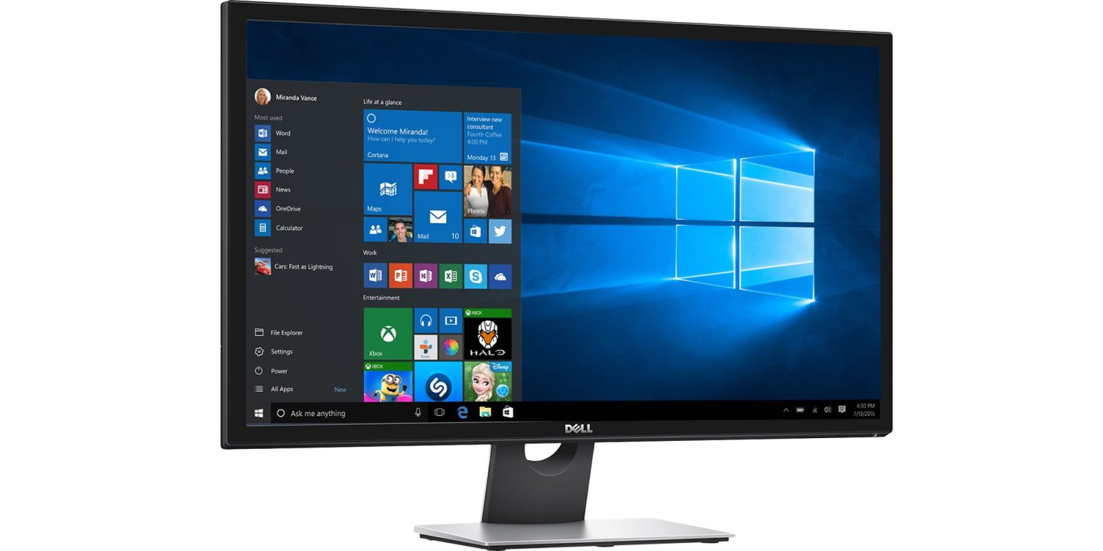 Add The 28 Inch Dell 4k Monitor To Your Desk For 130 Off Now 270 Shipped