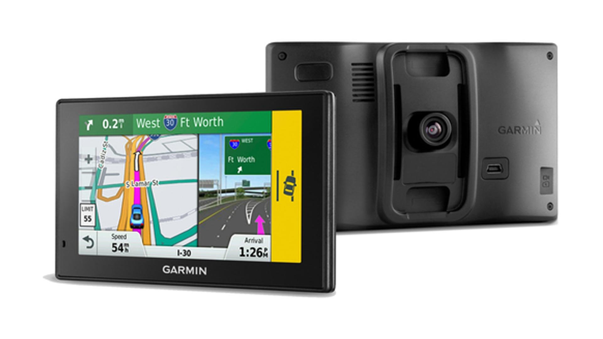 This Garmin GPS helps banish clutter w/ its built-in Dash Cam: $109 (Refurb, Orig. $300)