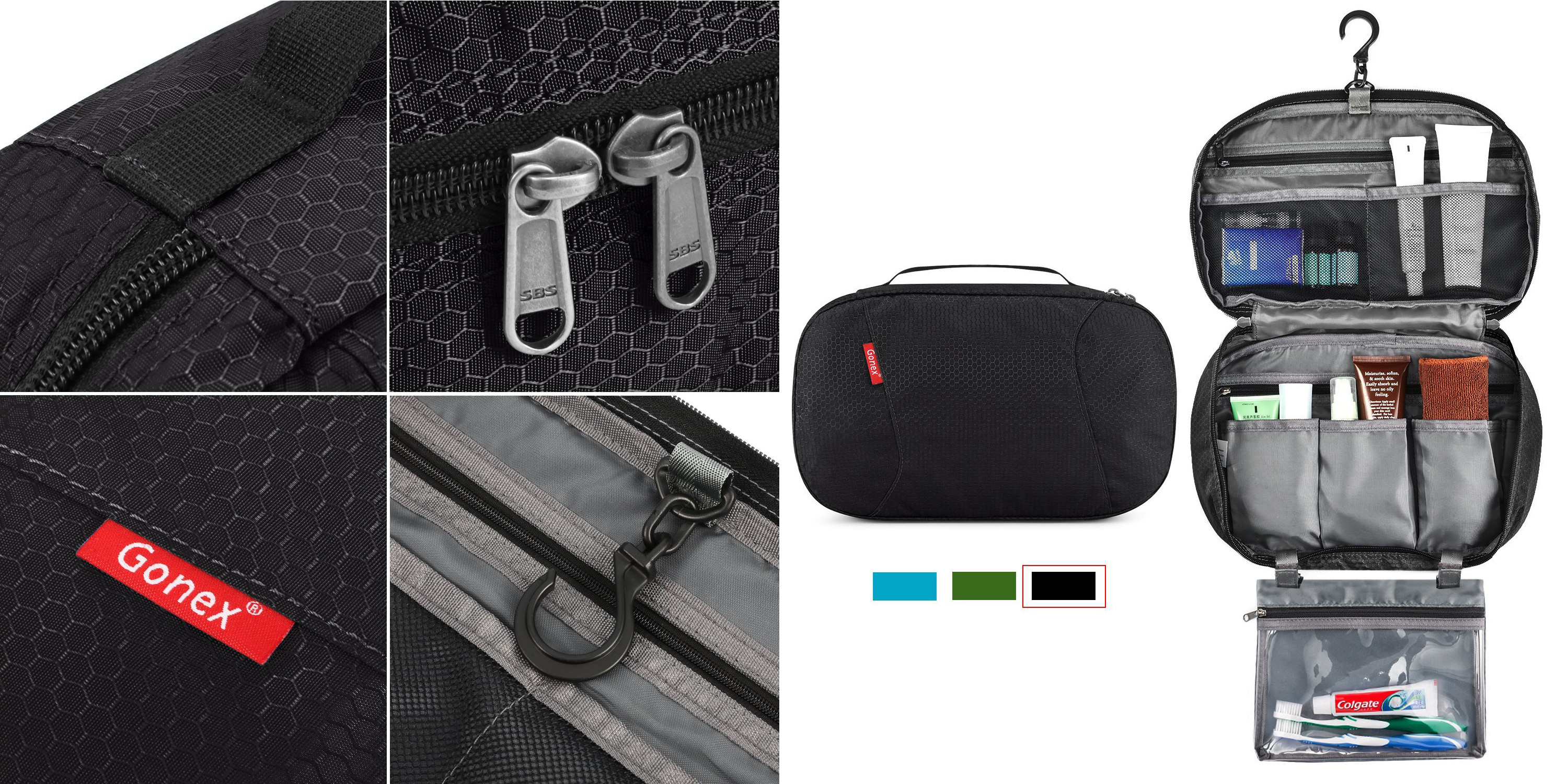 4f364b1ae3c5 Pick up a Gonex Hanging Travel Bag w  a 2-yr. warranty for under  10 Prime  shipped - 9to5Toys