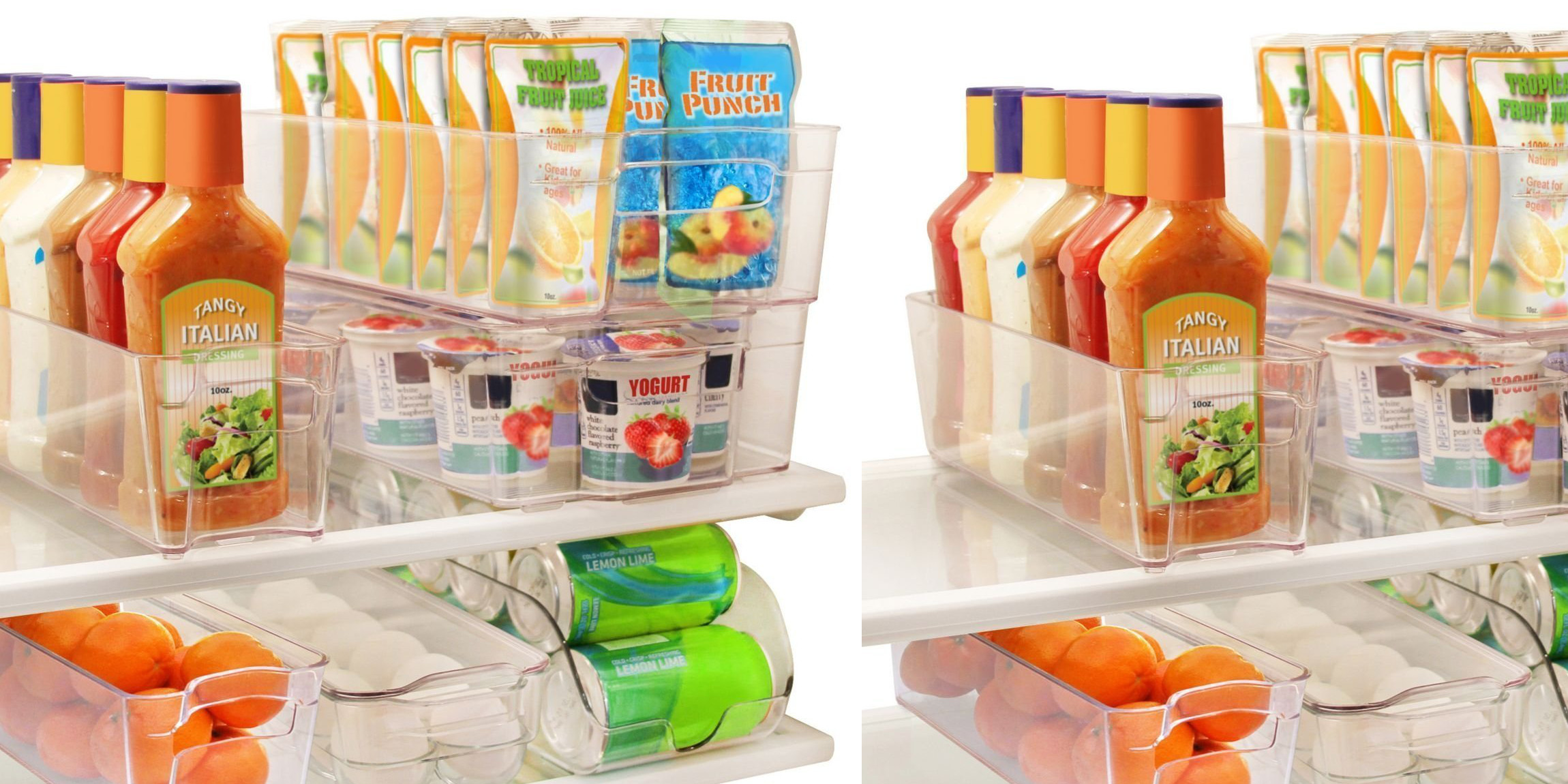 Keep your fridgefreezer tidy w these Greenco Stackable Bins 26