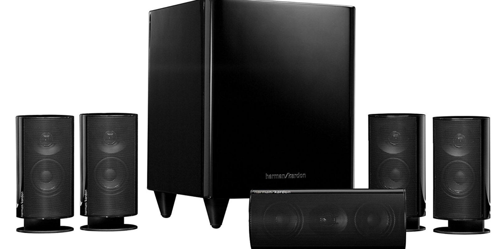 harman kardon 39 s hkts 15 5 1 ch speaker system falls to. Black Bedroom Furniture Sets. Home Design Ideas