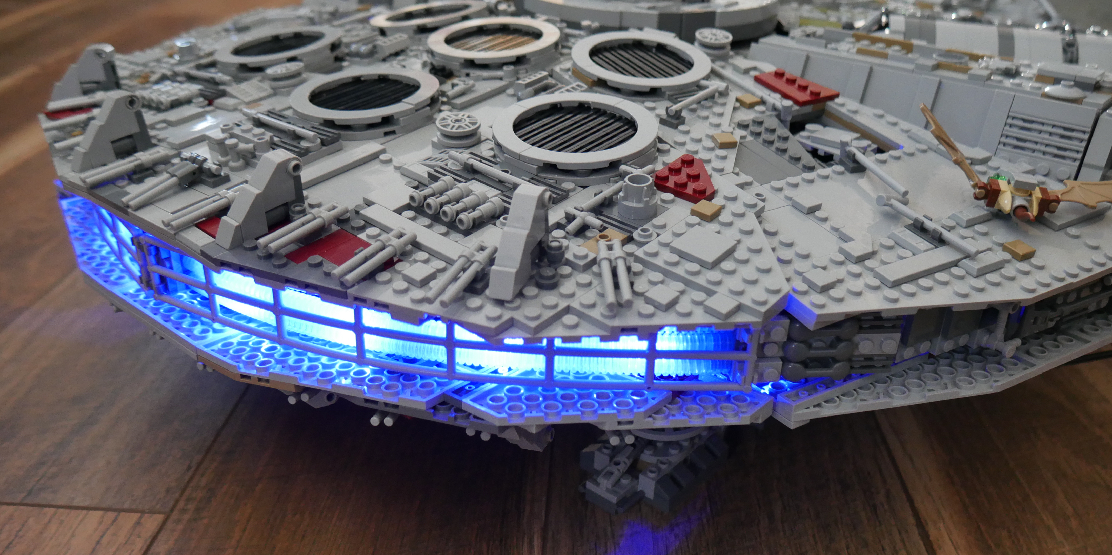 2a4167f0 LEGO UCS Millennium Falcon hands-on look - 9to5Toys