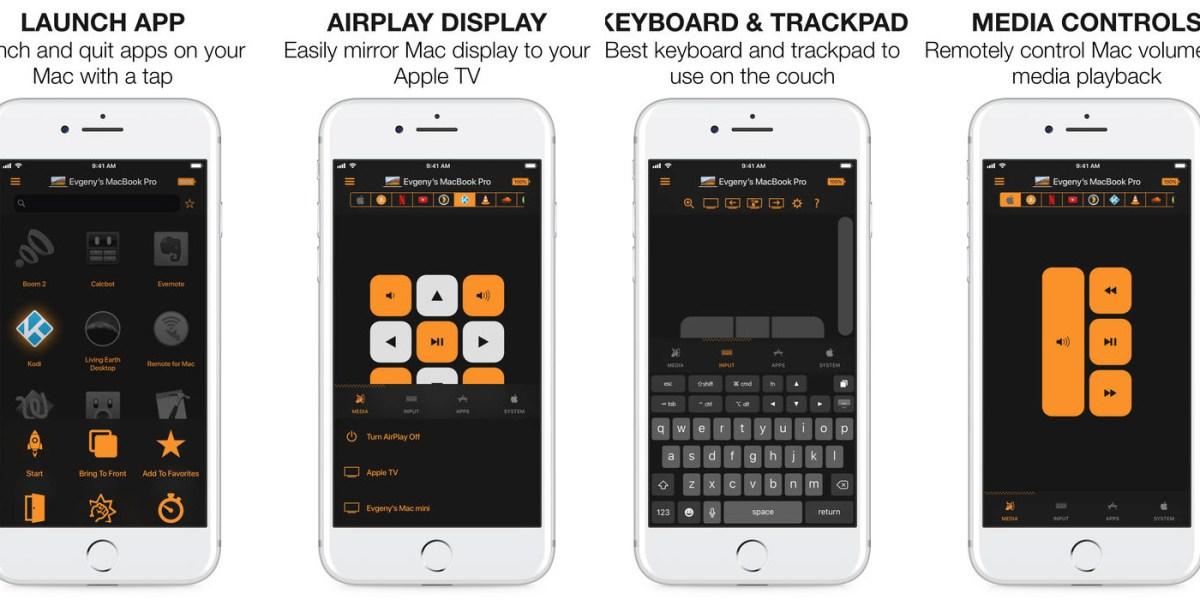 Best app for remote control of mac desktop