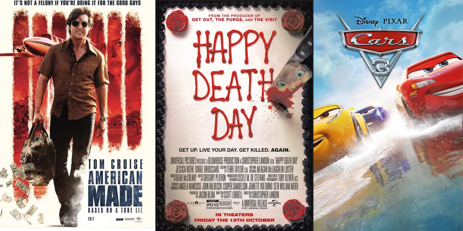 Own these Digital HD Movies for $8: American Made, Happy