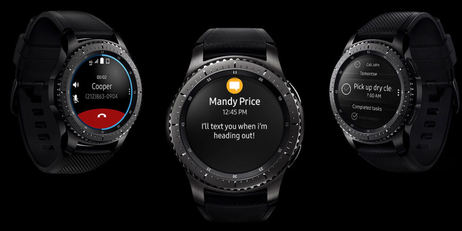 Save $100 on Samsung Gear S3 Frontier Smartwatch at one of its best prices yet