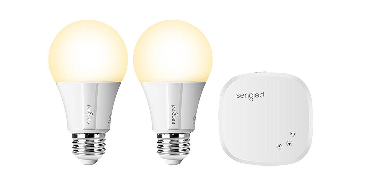 Green Deals Sengled Classic A19 Smart Led Light Bulb Kit