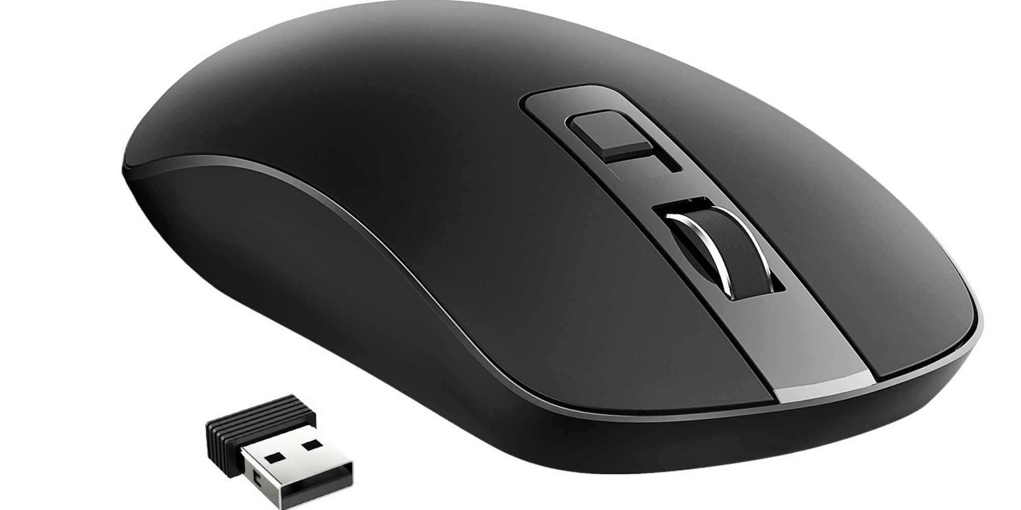 VicTsing's ultra-quiet 4-Button Slim Wireless Mouse is just $6 Prime
