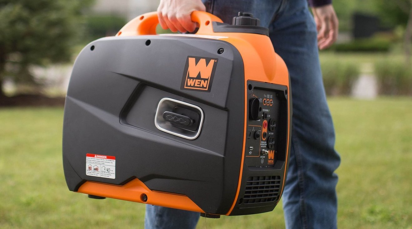 WEN's best-selling 4-Stroke Gas-Powered Portable Generator for $404 shipped