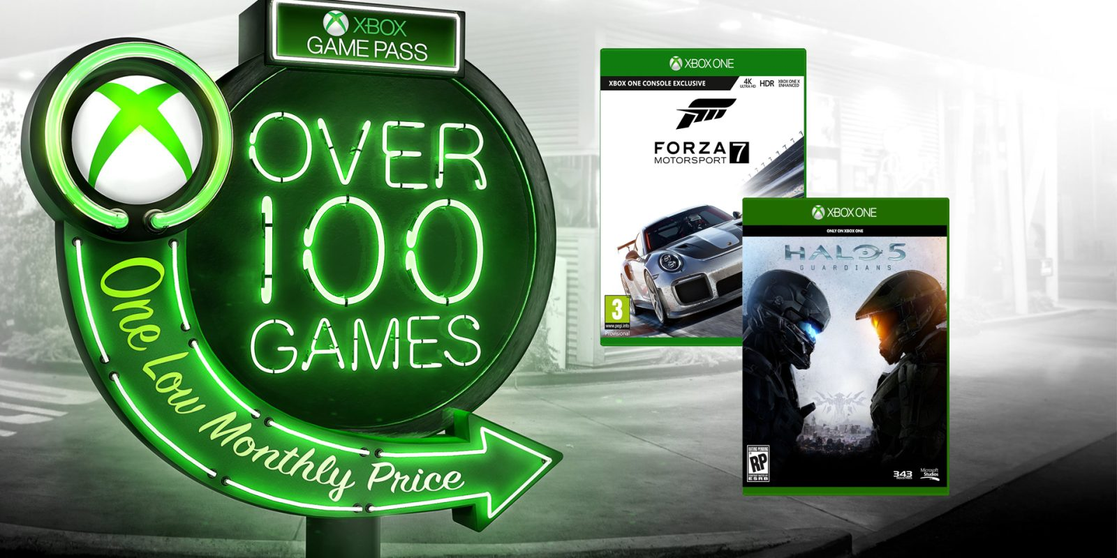Xbox Game Pass will now include Day 1 Halo, Forza, GOW