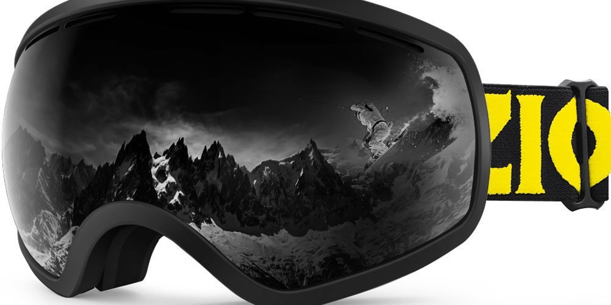 Look good on the slopes with the Zionor Snow Goggles for $14 Prime shipped