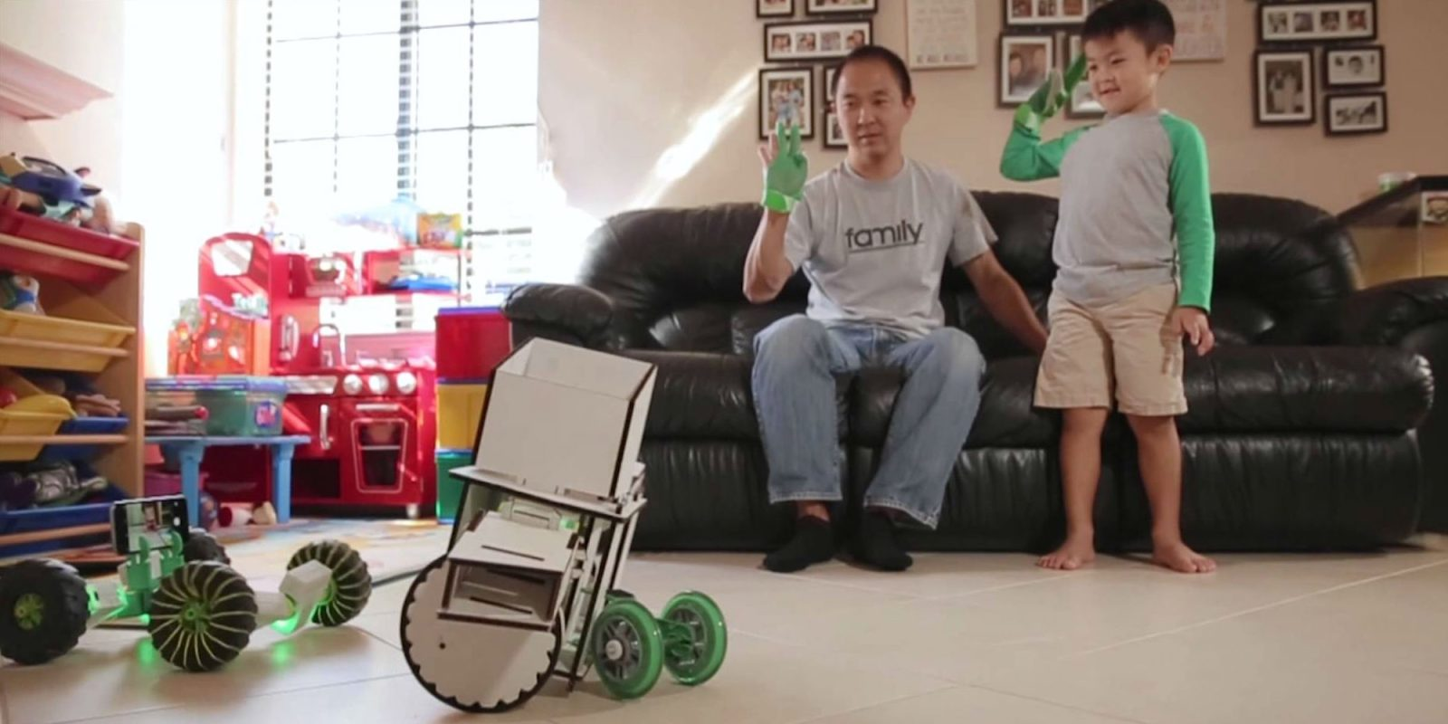 Ziro is a modular, voice controlled robot that works with