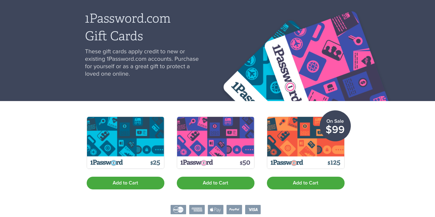 Up to 20% off gift cards from 1Password, Wayfair, Domino's, more - 9to5Toys