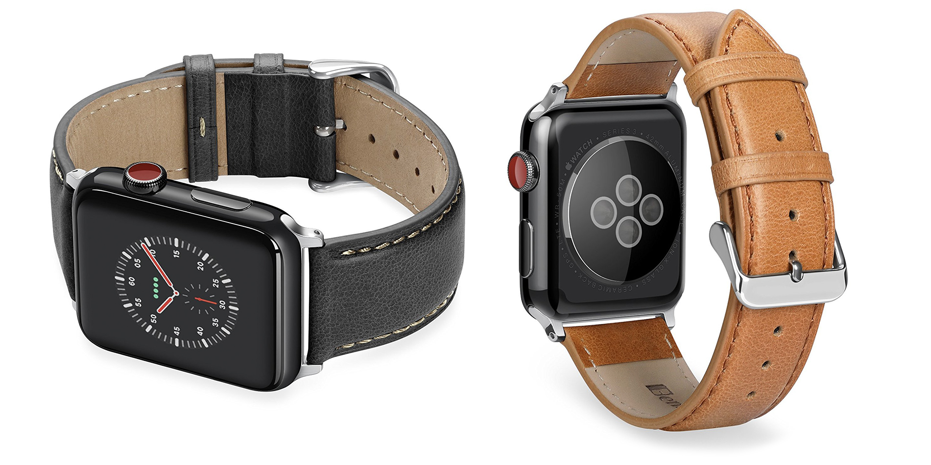 Just $8 Prime shipped gets you a new leather Apple Watch band, more from $5