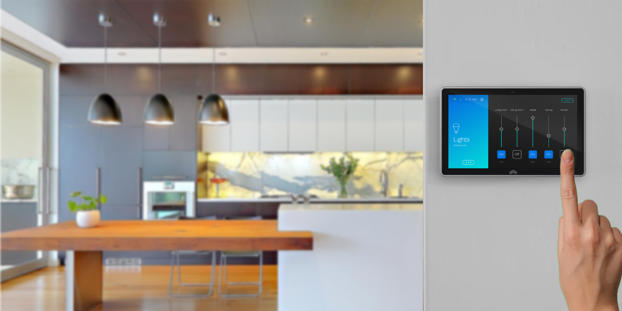 Atmos unifies all of your smart home gadgets around a slick voice-controlled touchscreen hub