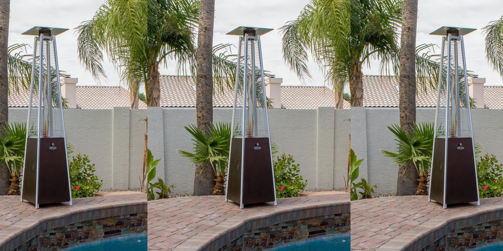 Amazon Offers The AZ Patio Heater In Quartz Glass/Bronze For $157.50 (Reg.  $195+)