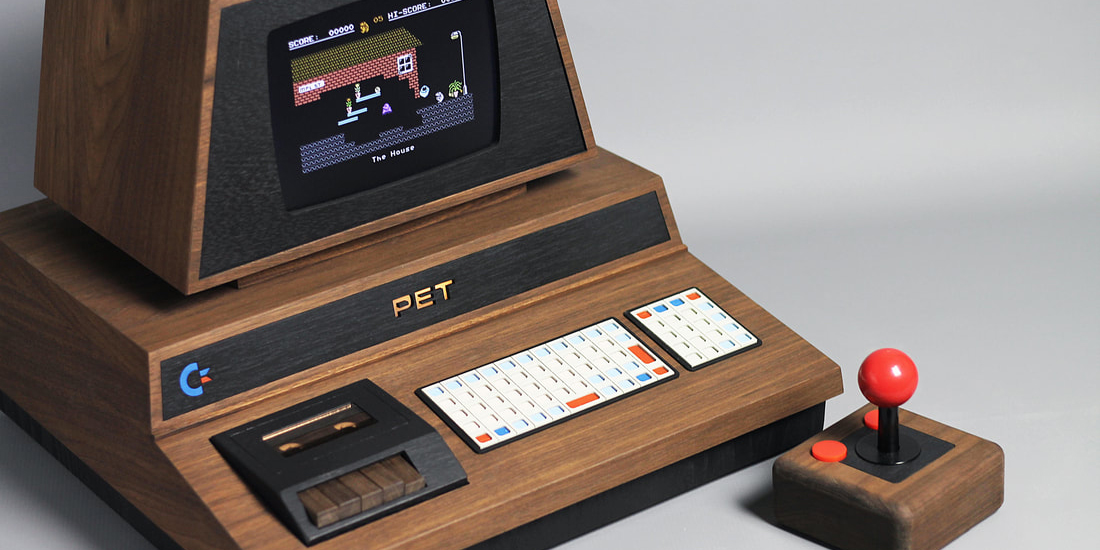 The iconic Commodore PET 2001 is back in this gorgeous one-off build ...