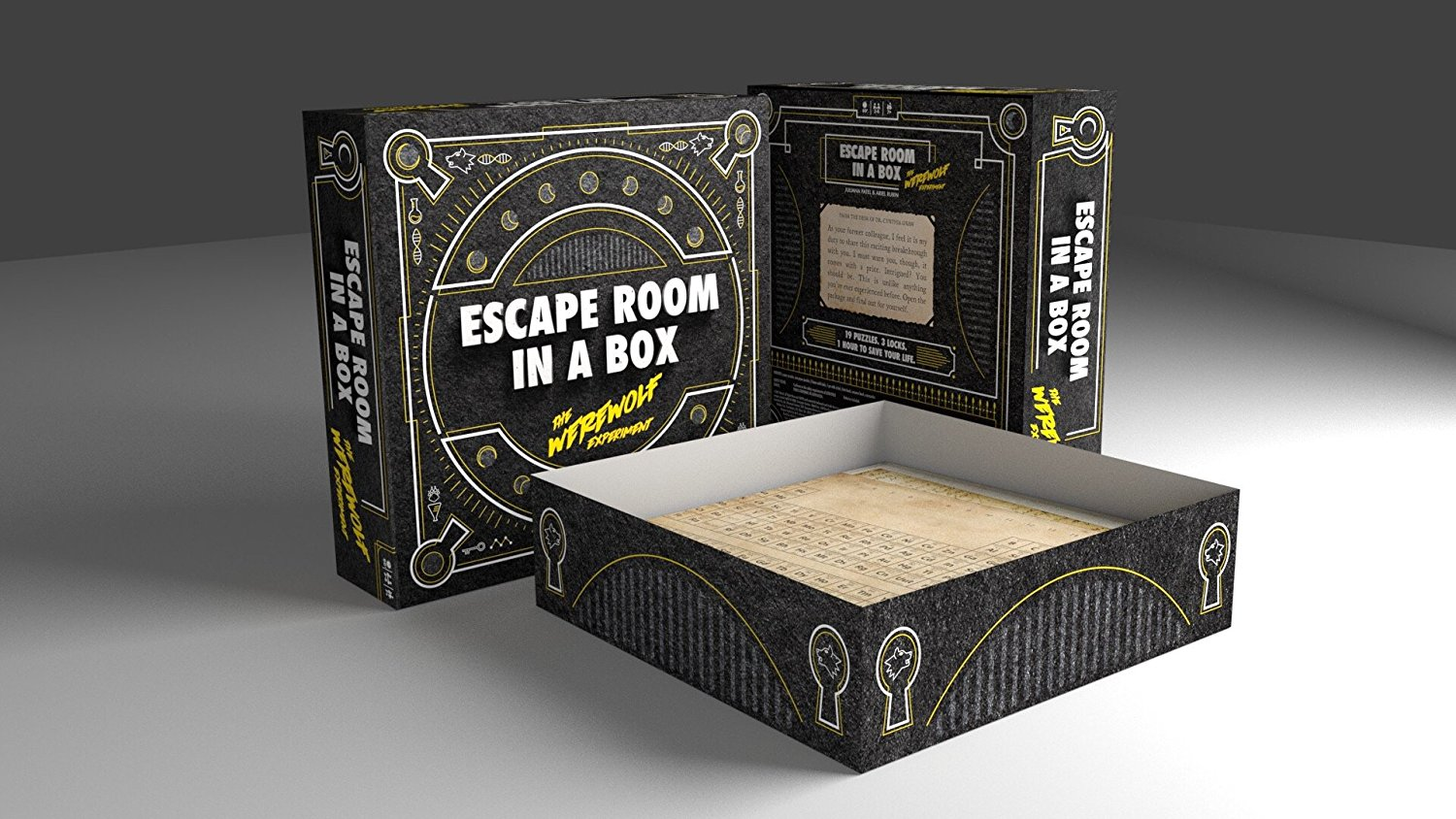 If you like escape rooms, here's one in a box you can play at home for $30