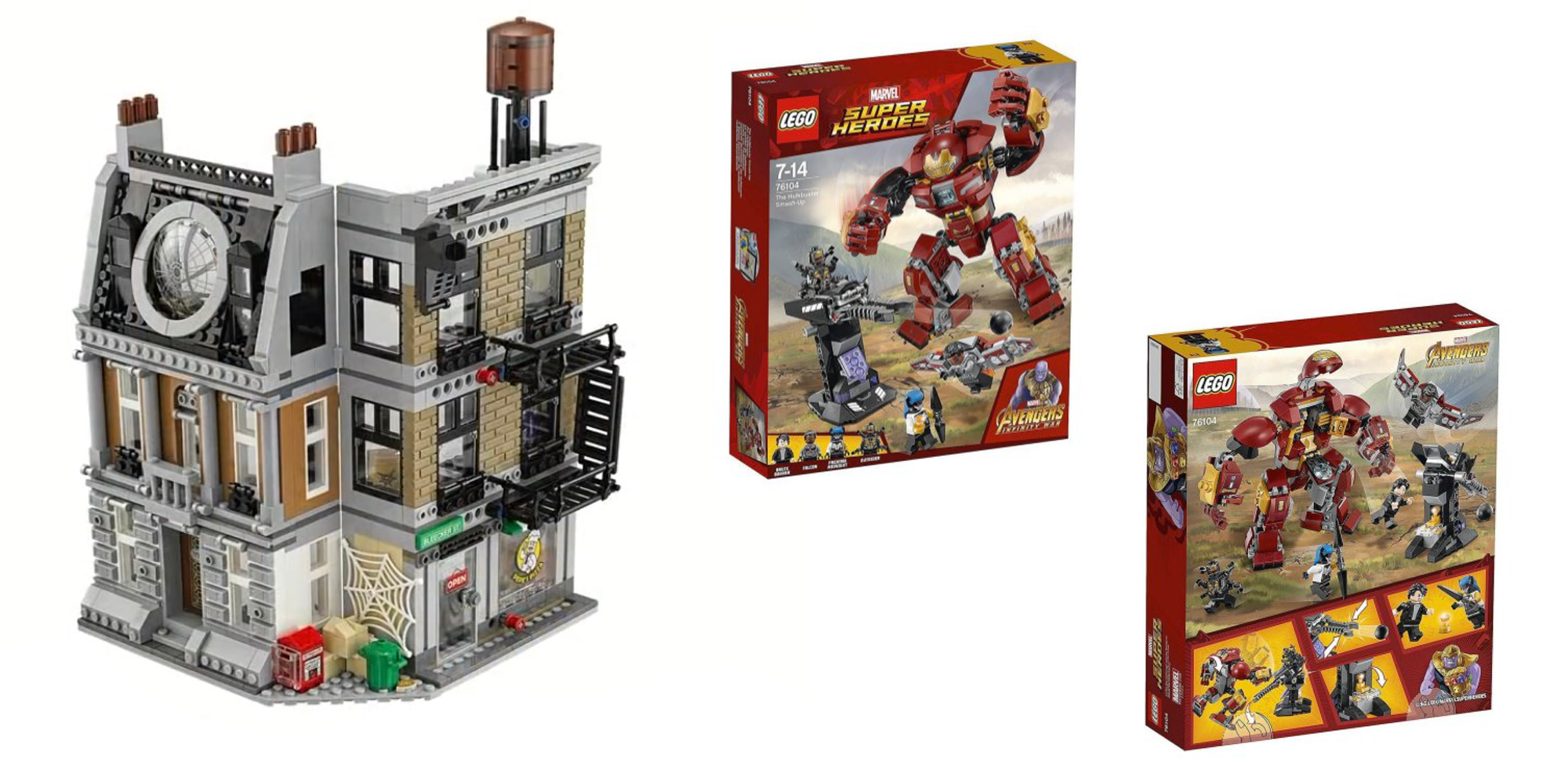 Lego Unveils 6 New Avengers Infinity War Sets Ahead Of New York Toy