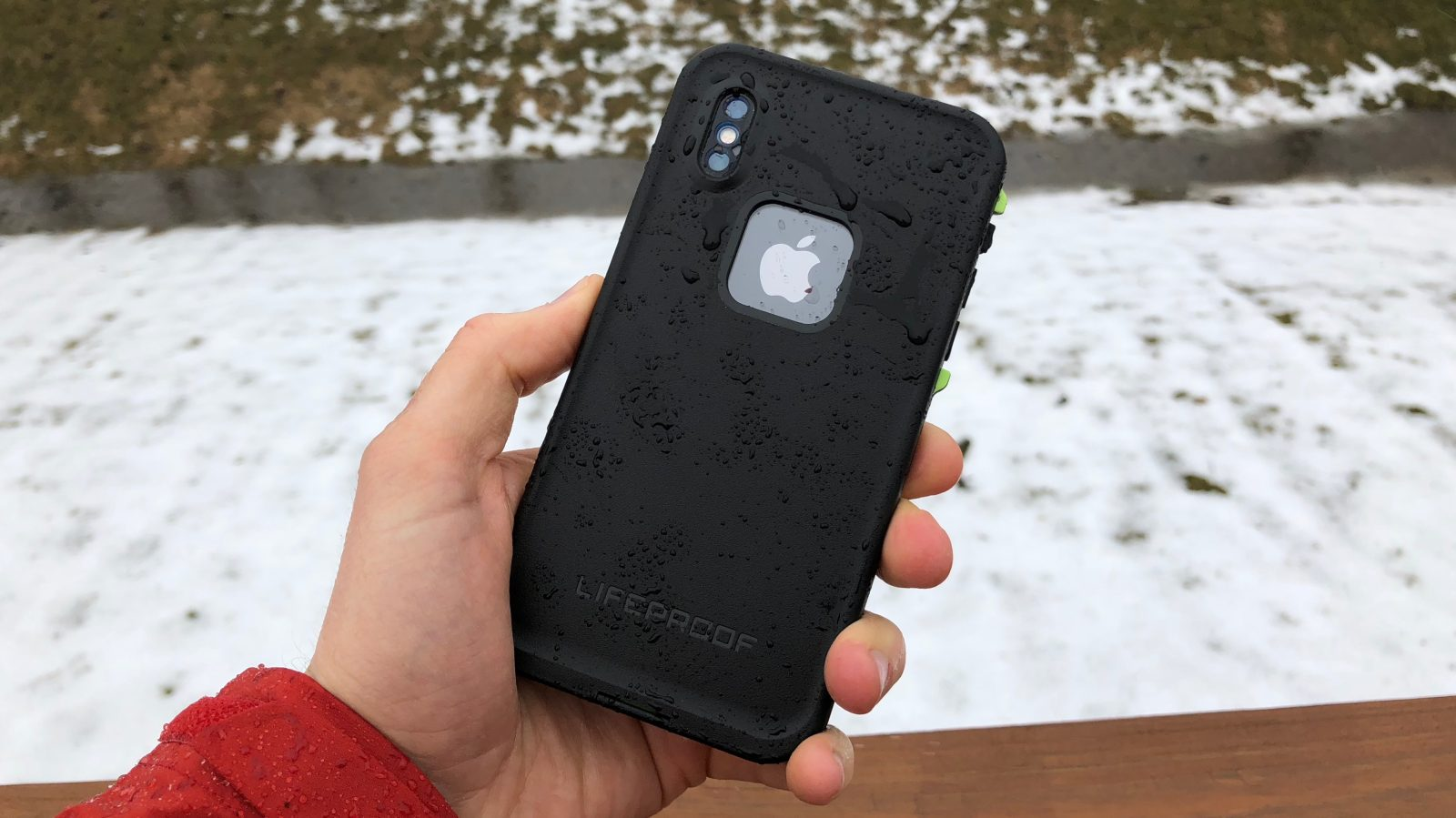 online store bee70 54a01 Review: Lifeproof FRĒ for iPhone X - solid protection in a slim ...