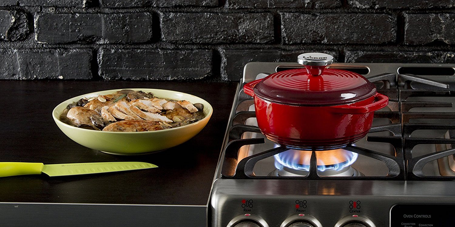 Lodge's highly-rated Cast Iron Dutch Oven hits Amazon low