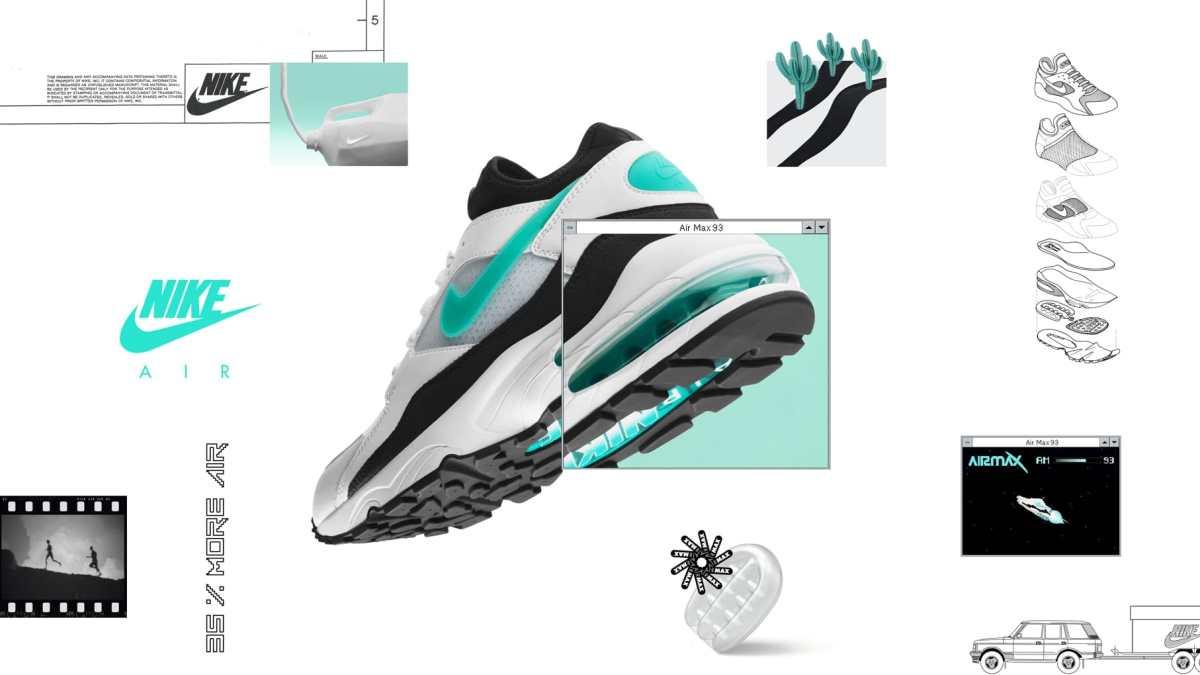 Nike Air Max 93 Sport Torquoise