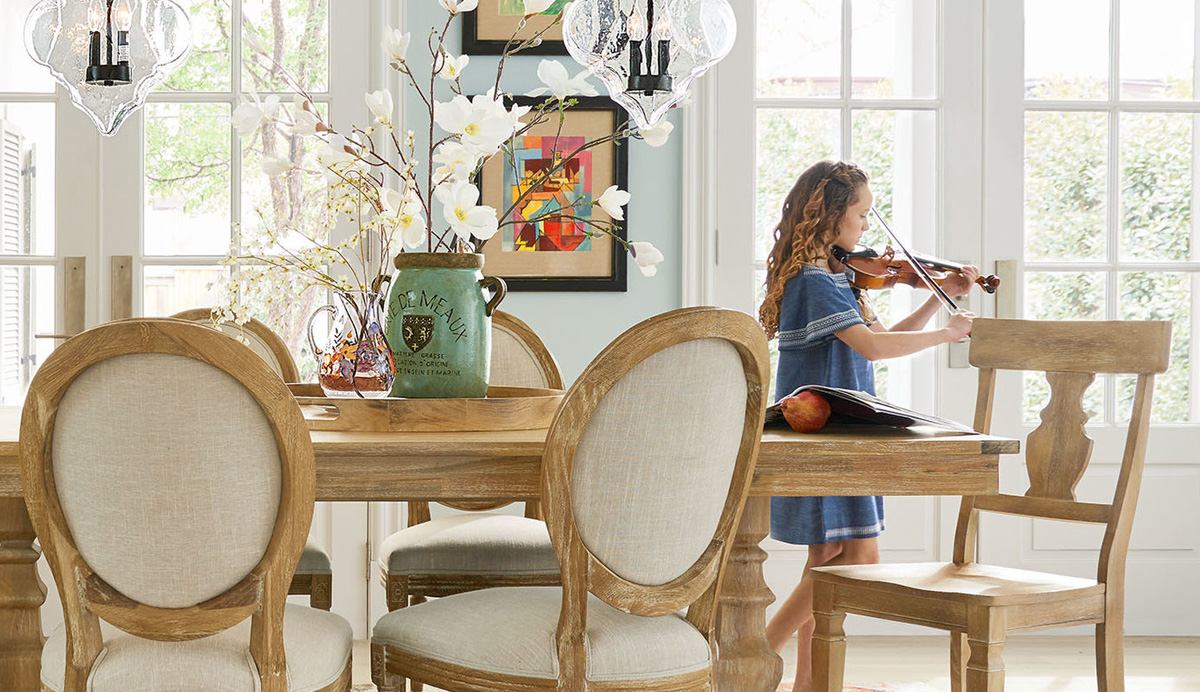 Pier One Imports Dining Furniture Sale: $6 off tables & $6 off