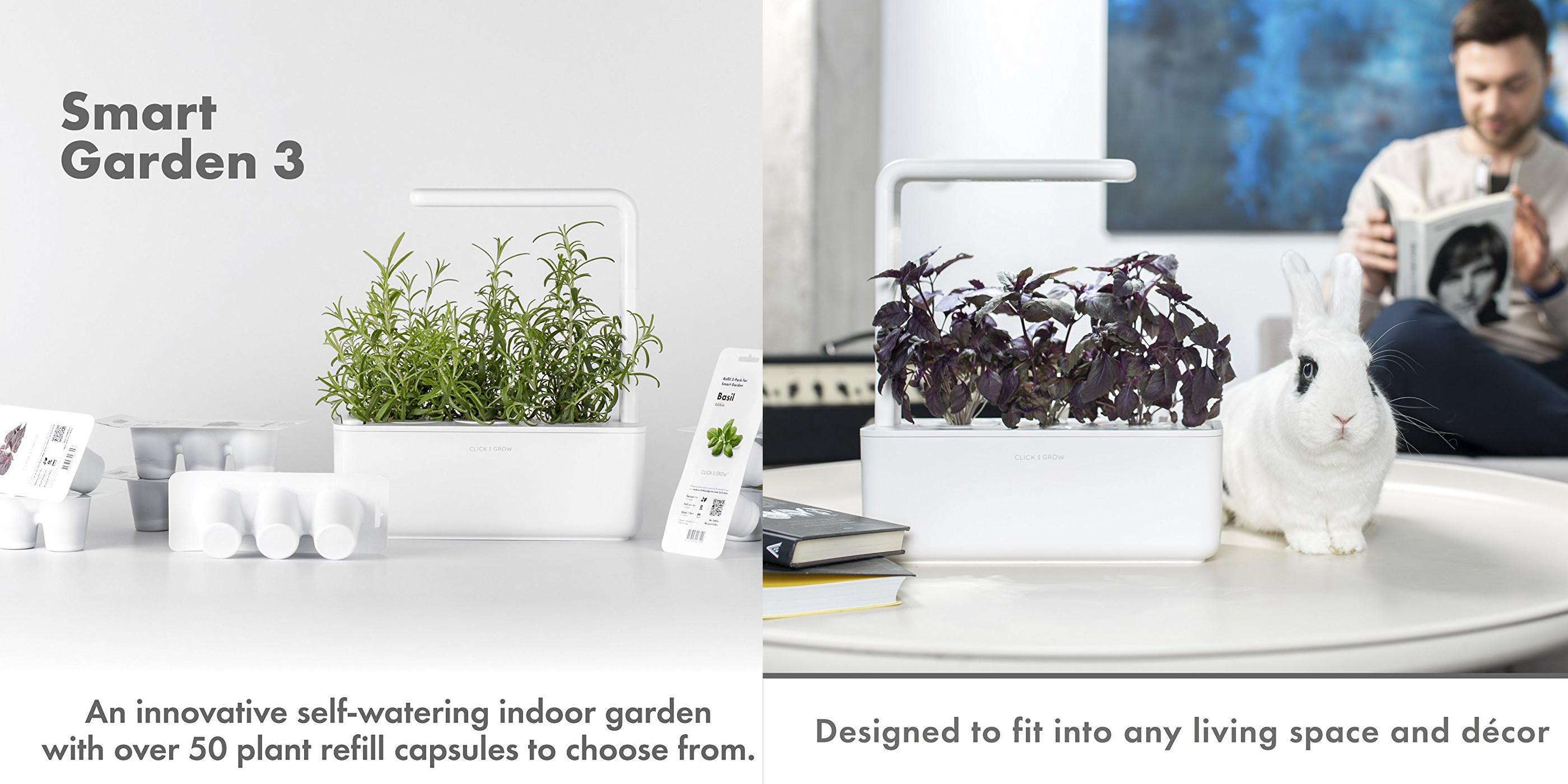 Smart Garden 3 Indoor Gardening Kits 25 Off For Valentineu0027s Day  Free Shipping