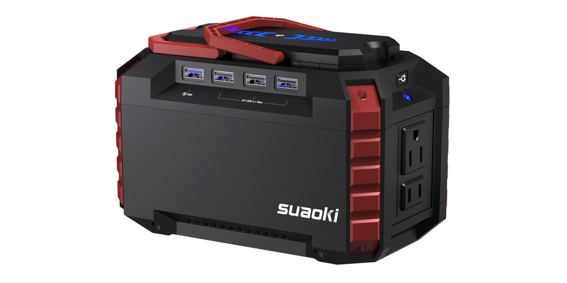 At $119, Suaoki's Portable Power Station has USB ports, AC outlets, more