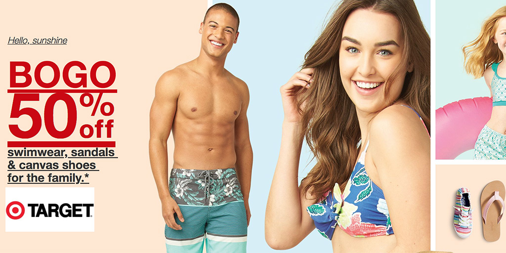 3d9639ec15 Target's BOGO 50% off swimwear & sandals event + extra 20% off women's  clearance - 9to5Toys