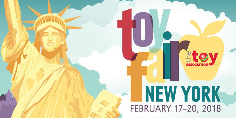 Toy Fair 2018 - February 17-20, 2018, New York City