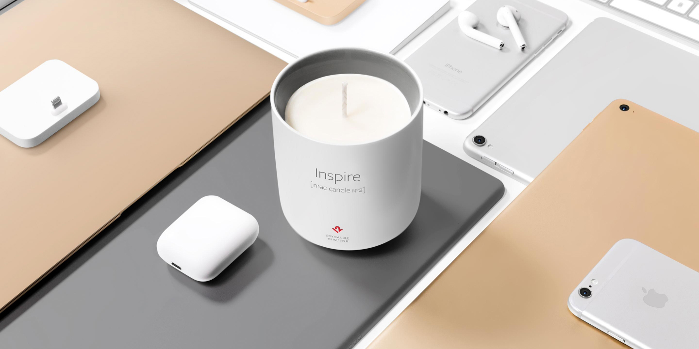 Twelve South's Inspire Mac Candle completes your Apple setup for $24 via Amazon